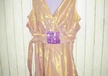 Piękna i niepowtarzalna sukienka suknia r.L