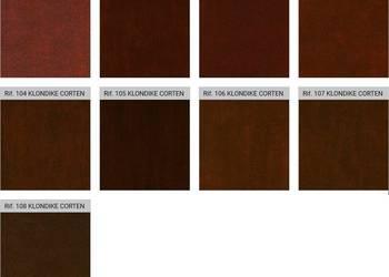 Farba dekoracyjna Klondike Corten z efektem rdzy