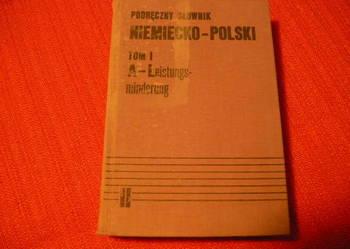 Słownik niemiecko - polski