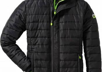 kurtka meska cienka pikowana zielona