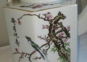 dzbanek do herbaty, chińska  porcelana, na prezent