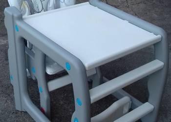 Krzesełko do karmienia Candy Baby Design (kolor fioletowy)