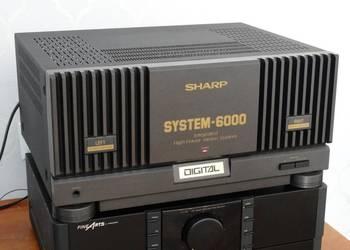 Wzmacniacz Sharp SM-6000 mocny 650 wat. WYSYŁKA.