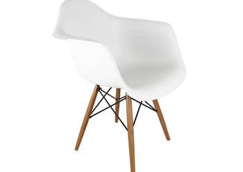 Fotel DSW Eames drewniane nogi - darmowa dostawa