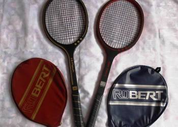 Rakiety tenisowe RUCANOR 2 x modele super stan dla kolekcion