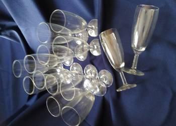 Szampanówki, kieliszki do szampana 14 sztuk komplet