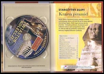 KRAINA PIRAMID. Zagadki starożytnego Egiptu. DVD plus książka
