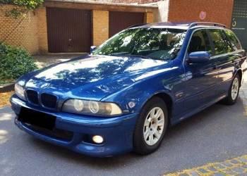 """Sprzedam  """"BMW  520d Touring"""" 2002 r."""