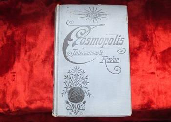 Stara powieść podróżnicza Cosmopolis z 1897 roku