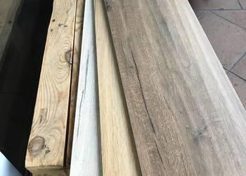 płytki 120x30 cm drewno deska schody parapety gres