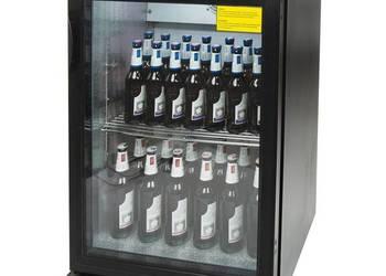 Witryna chłodnicza do butelek chłodziarka jednodrzwiowa