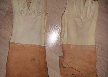 Rękawice skórzane spawalnicze