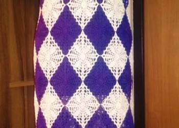 Handmade, sukienka na szydełku