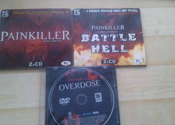 Painkiller, Battle out of Hell, Overdose PC - 3 Gry