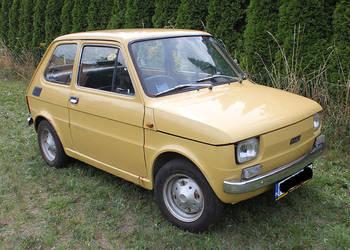 Fiat 126 Maluch 600 cm3 - 1973 w oryginale Pierwsza Seria