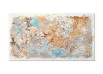Tierra Osh, abstrakcja, nowoczesny obraz ręcznie malowany