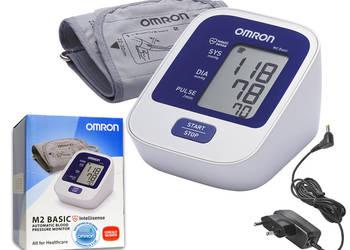 Ciśnieniomierz OMRON M2 BASIC naramienny z zasilaczem,