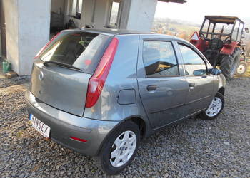 Fiat Punto 1.2 8V 60KM KLIMA Wspomaganie 5 drzwi Biały środe