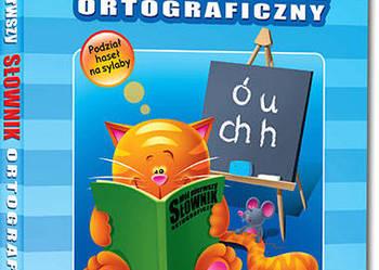 Mój pierwszy słownik ortograficzny GREG NOWY twarda oprawa