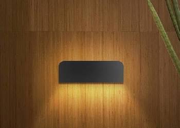 Fermont - kinkiet LED 8W - lampa ścienna - oświetlenie elewa