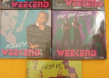 """5 płyt CD Weekend (nowe, w folii): Deja vu, """"Tak jak czuję"""""""