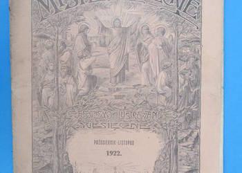 Misye Katolickie Rok Wydania 1922. - Bezpłatna wysyłka.