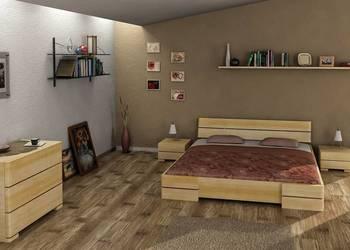 Łóżko niskie sosna 140x200 SA04 - nawet w 7 dni!