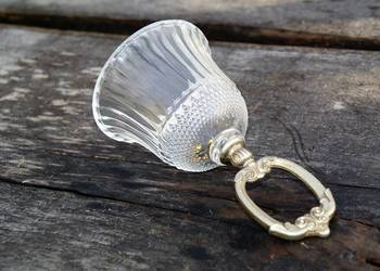 Dzwonek szkło i mosiądz