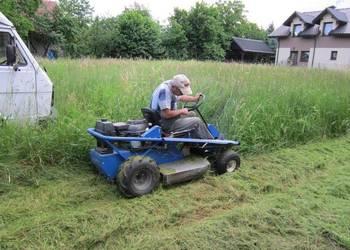 Koszenie wykaszanie nieużytków trawy Wisła Ustroń Brenna