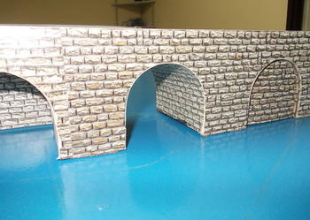Mostek do kolejki H0/ wykonany ręcznie i z precyzją / dł 1m