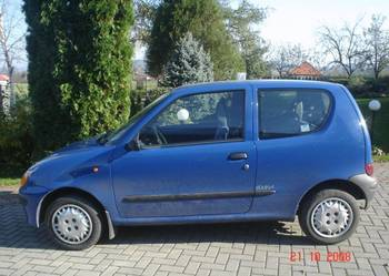 FIAT SEICENTO 2000r benzyna + LPG