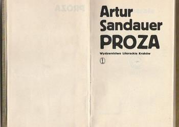 (7419) PROZA – ARTUR SANDAUER