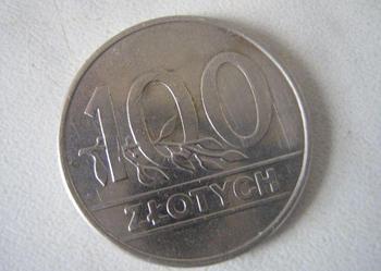 MONETA 100 ZŁ