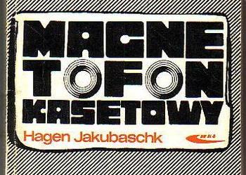 (8388) MAGNETOFON KASETOWY – HAGEN JAKUBASCHK