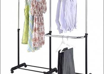 Wieszak stojak na kółkach ubrania garderoba 3073