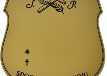 Tabliczka cmentarna,tabliczka na krzyż,tabliczka pogrzebowa