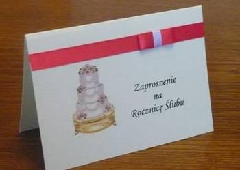 Zaproszenie na Rocznicę Ślubu Zaproszenia Nowość