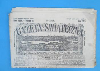 19. Gazeta Świąteczna Rok wydania 1929 - Bezpłatna wysyłka.