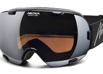 Gogle narciarskie Arctica G-100 podwójne szkła, Bezramkowe