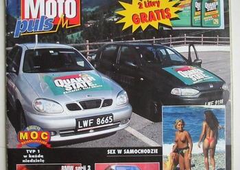 """czasopismo """"Auto Moto puls"""" nr.2/1999 (cena z przesyłką)"""