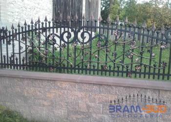 Używany, Ogrodzenie kute – brama, furtka, przęsło na sprzedaż  Częstochowa