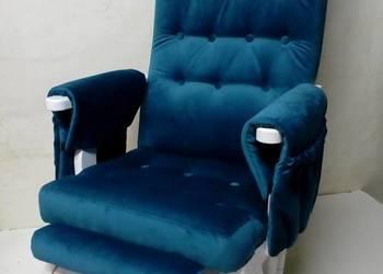 Fotel bujany na styl skandynawski , na prezent