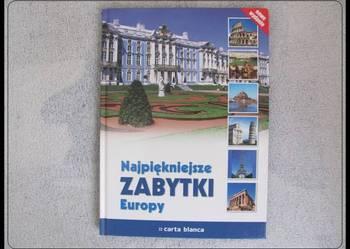 Najpiękniejsze zabytki Europy - książka nowa - Prezent