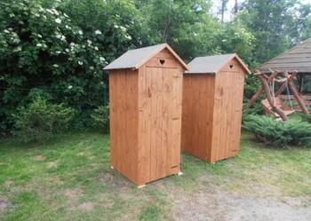 Wc Toaleta Szalet Wychodek Kibel Drewniany Swojak budowę