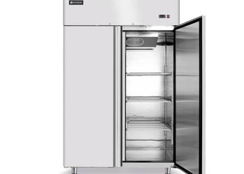 Dwudrzwiowa szafa chłodnicza 1300L standard GN 2/1 Hendi