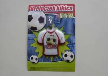 Piłkarski breloczek kibica Just Kick-it! NOWY! Duża ilość!