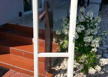 Cena za 41 szt. Drewniane okna z demontażu.