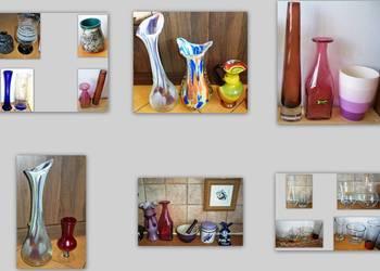 Artystyczny szklany wazon (też Horbowy).