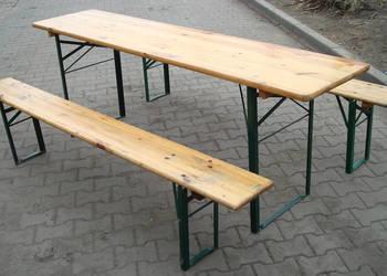 Sprzedam stoły z ławami na imprezy plenerowe
