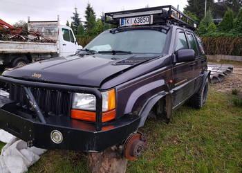 Jeep ZJ Grand Cherokee 5.2 V8 Powypadkowy, cały na części